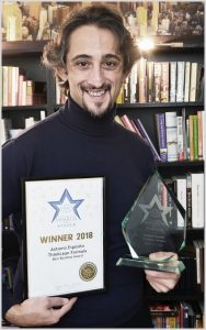 Antonio Esposito and Think Lean Best Business Award 2018
