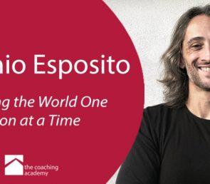 Antonio Esposito – Volunteer Mentor at The Coaching  Academy