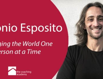 Antonio Esposito – Volunteer Mentor at The Coaching  Academy