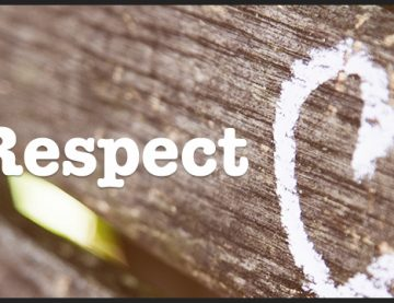 It's time for Self-Respect