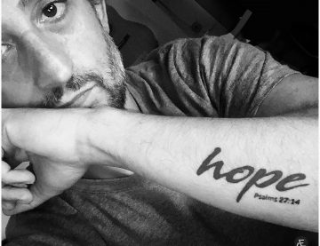 HOPE – Hold On Pain Ends.