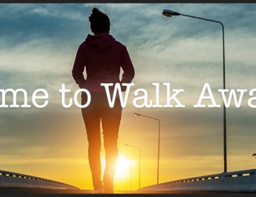 Walking Away from Pain