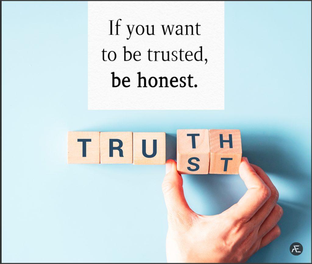 trusted honesty
